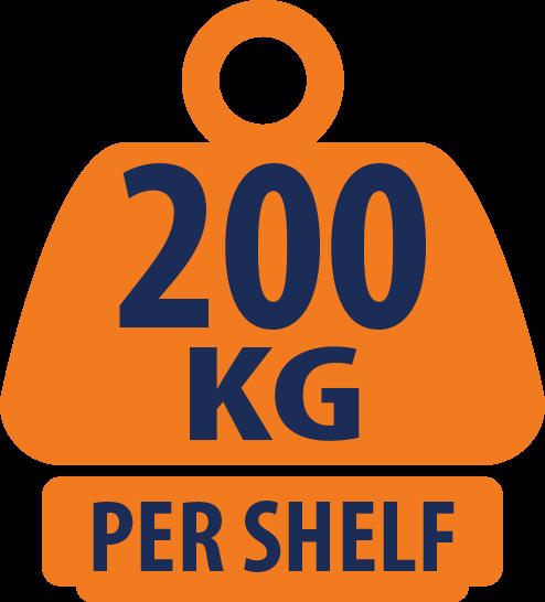 10x Garage Shelving Units / Racking 5 Levels 1800 x 1500 x 600