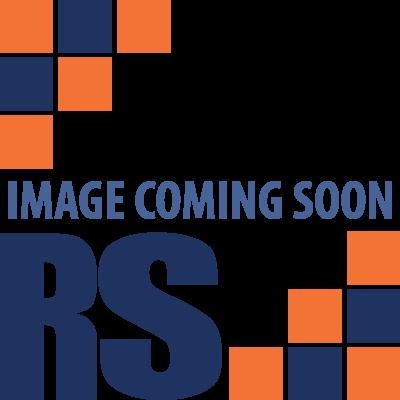 5 Tier Contemporary Industrial Bookcase Shelving Oak Style Finish & Matt Black Metalwork - 1480mm H x 800mm W x 340mm D
