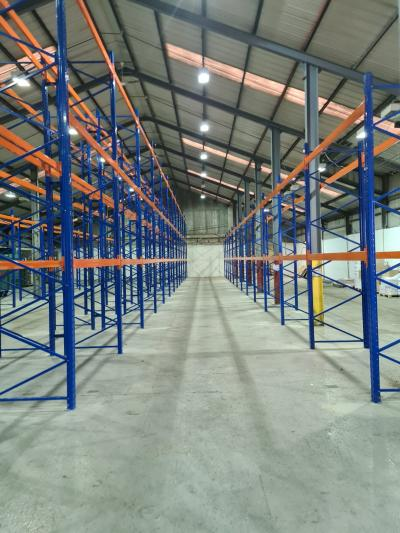 One of our latest pallet racking projects is now complete
