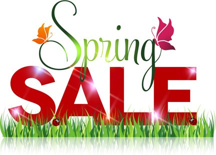 Our Spring Sale is now on!