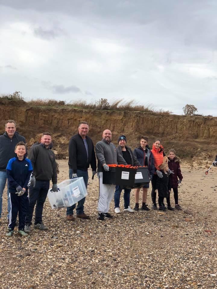 Racking Solutions - Fraisthorpe Beach Clean 2018